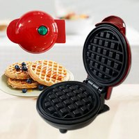 Mini fabricante de waffles eléctrico Pan Burbuja Huevo Tarta Tarta Desayuno Máquina de waffle EggTart EggetTe-Machine Mini-Waffle-Pot