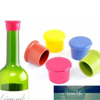 3pcs Multicolor Food Grade Silicone Beer Plug Wine Stopper Bottle Cap Cover Practical Home Kitchen Accessories