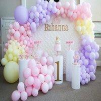 Party Decoration 5pcs / Set) Material Mental Casamento Centerpiece Flor Pilar Plinth Stands Stage Yudao722