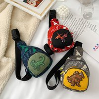 Корейский мультфильм детский сундук мода детский сад рюкзак детский динозавр нулевой кошелек мешок сумка