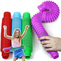 DHL Große Größe Zappeln Tube Spielzeug Relax Therapy Stress Relief Gefühl Wicklung Dekompression Pädagogisches Spielzeug Gehirn Stellen Sie sich Werkzeuge, um den Großhandel zu fokussieren