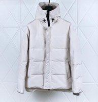 الشتاء رجل ستر أزياء مصمم جاكيتات معطف سترة واقية سترة أسفل معاطف مع خطابات الرجال النساء سترة سميكة الحجم الآسيوية جودة عالية