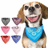 Собака бандана воротник треугольник шарф регулируемый кожа PU PET CAT DOGGIE HEACKERCHIVE
