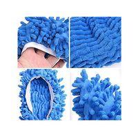 متعددة الوظائف الغبار المنفضة ممسحة النعال أحذية لينة قابل للغسل reusable ستوكات القدم الجوارب أدوات تنظيف الطابق تشنيل حذاء غطاء CCF7410