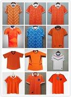 1988 Holanda Retro Soccer Jersey Van Basten 1997 1998 1994 1990 Holland Camisas de futebol Bergkamp 97 98 12 Gullit Rijkaard Davids