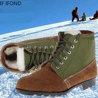 Botas Se Ifond Inverno Mulheres Ao Ar Livre Exército Combate Segurança Homens Homens Anti-Slip Military Tactical Mountaineering Sapatos Tamanho 45 46