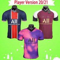 psg paris Player sürümü 2020 2021 paris futbol formaları 20 21 MBAPPE KIMPEMBE formalarını CAVANI Maillot de ayak Verratti Camiseta de futbol