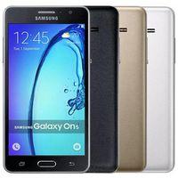 Remodelado Original Samsung Galaxy On5 G5500 Dual Sim 5.0 Polegada Quad Núcleo 1.5GB Ram 8GB Rom 8MP 4G LTE Android Celular Telefone FREE DHL 5 pcs
