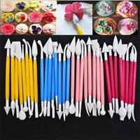 새로운 bakeware 케이크 도구 조각 나이프 조각 퐁당 퐁당 케이크 장식 꽃 모델링 공예 클레이 sugarcraft 도구 커터 EWD6922