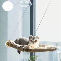 Cat Beds & Furniture Pet Hanging Comfortable Sunny Seat Window Mount Hammock Soft Shelf Supplies Detachable Bearing 15kg