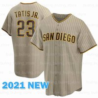 Пэдрес бейсбольные майки 23 Fernando Tatis Jr. 8 Javy Guerra 18 Остин Хеджес San Juricsson Profar Diego Tats Custom Tony Gwynn