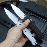 BM535 Folding Knife M390 Blade Aviation Aluminum Handle Camping Hunting Pocket Knives EDC Tool High-Grade Nylon Bag