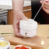 Tirez manuellement Garlic Mini Mini Presse Garlic Mashed Mashed Garlics Produit utile Produit Viande Meulage de viande Déchiqueteuse à l'ail Home Cuisine Gratterie HWF9025