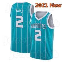 "Lamelo 2 Ball Gordon 20 Hayward Charlotte ""Hornets"" 2021 Kyrie Kevin 7 Durant 11 Irving Jersey Ja 12 Morant Ben 25 Simmons Basquete"