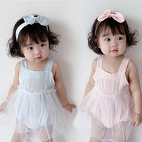 Girl's Dresses Dress Sling Cool Pure Cotton Summer Toddler Baby Girls For Going Out Clothing Birthday Gift