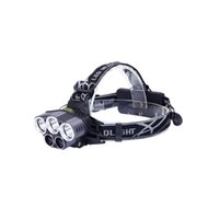 Lampa głowy 12000 Lumen Ultra Bright Cree LED Work Headlight Micro-USB Akumulator, 4 tryby Headlamp Wodoodporne reflektory do kempingu Piesze wycieczki Polowanie Hard Hat Pracownicy