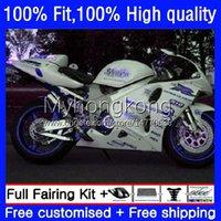 Kit de moule d'injection pour Suzuki TL1000R Blanc Blanc Srad TL-1000R 1998-2003 30NO.167 TL 1000 R 1000R 98 99 00 2001 2002 2003 Corps TL1000 1998 1999 2000 01 02 03 OEM Catériel