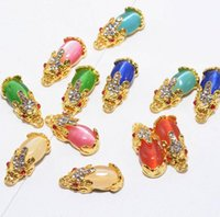 Высококачественный смешанный стиль металлический ногтя художественные украшения жемчужные стразы ногтей хрустальные камни наклейка маникюр аксессуары советы ногтей инструменты