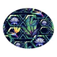Teppiche Exquisite hochwertige rutschfeste und langlebige tropische Pflanze Blätter Komfortables Wohnzimmer Kinderteppich 40cm
