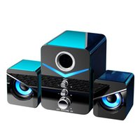JH USB Wired + BLE Speaker Speakers Soundbar Tv Subwoofer Sound Box PC Computer Phones Desktop Laptop TV Tablet