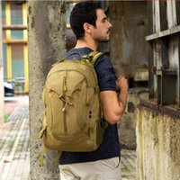 Backpack 40L Capacity Outdoor Sports Camouflage Army Fans Mountain Climbing Hiking Bag Shoulder Go-bag Tactical