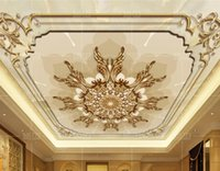Wallpapers Custom 3D Ceiling Wallpaper High Quality Wall Sticker Creative Pattern For Walls 3 D Po Paper Mural