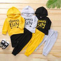 Jongens Kleding Sets Baby Suits Toddler Trainingspak Kinderkleding Herfst Winter Lange Mouw Hoodie Broek Casual Wear 2PCS B7780