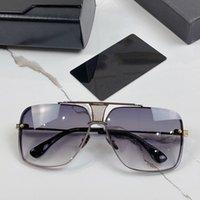 Dita DECADE ONE designer Sunglasses for women mens oversized vintage pilot resin lenses sun TOP high quality original brand spectacles luxury eye glasses frame men