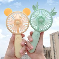 Rechargeable Mini Fan Hand Held Party Favor 1200mAh USB Office Outdoor Household Desktop Pocket Portable Travel Electrical Appliances Air Cooler JY0548