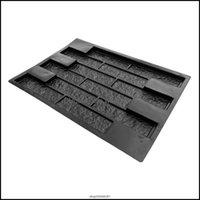기타 안뜰, 잔디 홈 가든 정원 건물 DIY 경로 제작자 포장 시멘트 벽돌 금형 단계 포장 포장 포장기 플라스틱 콘크리트 모드 LY13