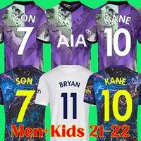 21 22 Tottenham Romero Bryan Gil Soccer Jersey Son Kane Reguilon Spurs Camisa de Futebol 2021 2022 Kits Top Kits Dele Camiseta de Futbol Maillot Foot