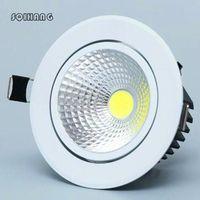 Ceiling Lights Hight Light Led Spot COB 5w 10w 15w 85-265V Recessed Indoor Lighting.