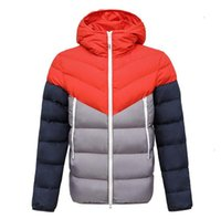 Down Jacket Winter Coats Mens Women Thick Coat Hooded Patchwork Parka Street Sport Windbreaker Warm top quality Outerwear Designer cotton clothes Unisex