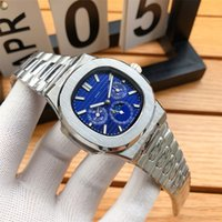 1ピース小売トップクオリティAAAデザイナー高級時計316Lスチールバンド自動巻線機械式時計日表示動き防水腕時計卸売