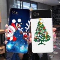 عيد الميلاد الكرتون tpu سيليكون حالة الهاتف لينة لجوجل بكسل 2 3 4 4a 5xl رقيقة tpu كوكه ل google pixel 4a xl fundas غطاء