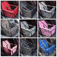 Faltendes Haustier liefert wasserdichte Hundematte Decke Sicherheit Haustier Auto Sitzbeutel doppelt dicke Reisezubehör Mesh Hängende Taschen Haustierauto