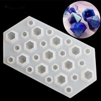 Cake Tools Diamonds Gem Silicone Cool Ice Maker Cube Mold DIY Tray Chocolate Bar Party Mould Crystal Jewerly Molds Tool