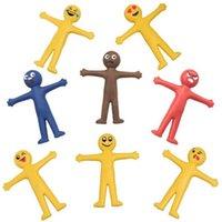 США корабль горячие продажи декомпрессионные игрушки творческий мягкий резиновый кукол улыбка выражение может растянуть и сложить офисные меблированные вентиляционные игрушки