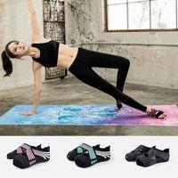 Sports Socken Yoga Water Shoes Toeless Anti-Skid Pilates Barre Ballett Bikram Training mit Griffe Schnelltrockner Männer Frauen