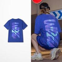 2021 Novo Hip Hop Camisa Curta Camisa Homens Maré Marca Ins Coreano Moda Tee Tee Funny Imprimir Amantes Casal Trasher T-Shirts J7tr