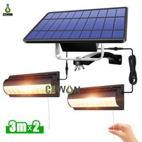 Solar Pendant Lights Outdoor Indoor Auto On Off Wall Lamps for Barn Room Balcony Chicken With Pull Switch And 3m Line