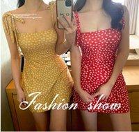 Two-piece Suits Daisy Flower Woman One Piece Swimsuit Lady Bathing Suit Dress Elegant Swimwear Floral Plaid Skirt Swimdress