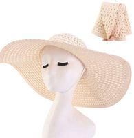 في الهواء الطلق مظلة القش قبعة طوي نسج الشمس القبعات للنساء الصيف النساء في الهواء الطلق ظلة الصيف طوي اليدوية حزب الشمس كاب LJJK2522