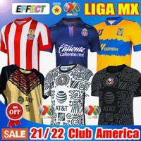 20 21 22 Club America Away Soccer Jerseys 2021 2122 الصفحة الرئيسية Unam الثالثة ليون Uanl Tigres Chivas Guadalajara 115 سنة كيت كاميساس دي فيوتول قمصان كرة القدم