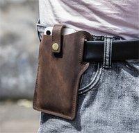 갈색 가죽 전화 파우치 PU 가죽 전화 케이스 고품질 가죽 보호 전화 뒷면 커버 IP 12 미니 프로 최대