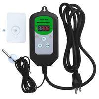Умный домашний контроль Цифровой датчик температуры Регулятор нагревательного завода Рептилий контроллер прибора