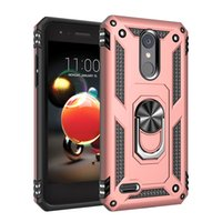 For LG K40 Stylo 5 4 Aristo 3 2 Moto G7 Power Ring Magnetic Case Hybrid Armor Defender Phone Cover for Samsung A20 A10E S10 5G