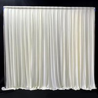 Casa Decor Prop Backdrop de Casamento Espesso Drape Panel Party Evento Diy Photo Curtain Festival Pendurado