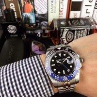 2021Mers Automatische mechanische Bewegungsuhren Deluxe schwarz blau Keramik Saphir Dial Jubiläum Armbanduhr Relojes de Lujo Para Hombre