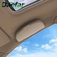 Autres accessoires d'intérieur Boîte de rangement de lunettes de voiture Daefar pour Mitsubishi Asx Lancer 10 9 Outlander Pajero Sunglasses Titulaire Case Auo